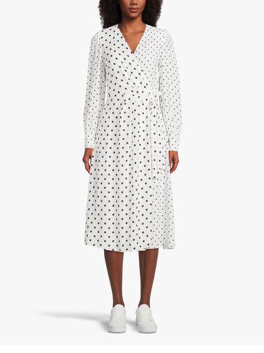 Consumo-Polka-Dot-Long-Sleeve-Wrap-Over-Maxi-Dress-12211621P