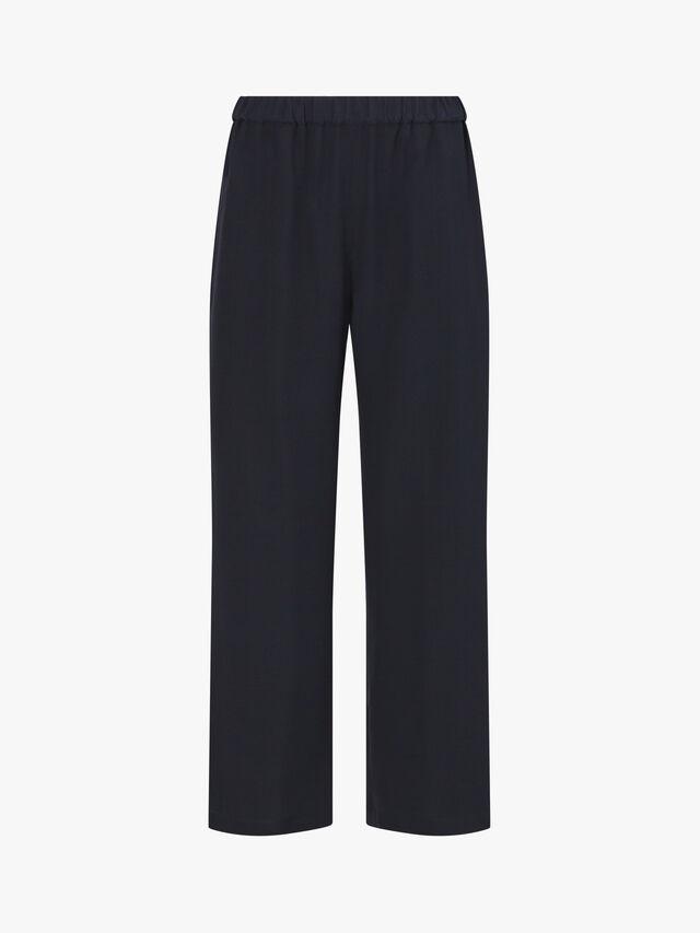 Wide Leg Cropped Trouser