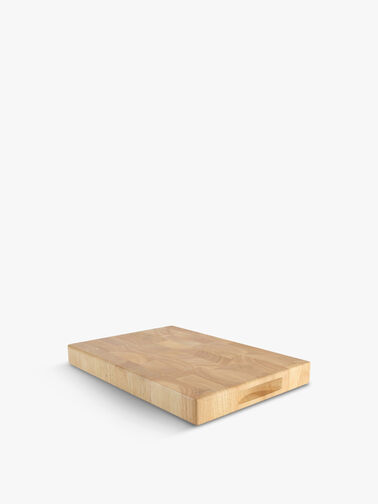 Hevea Rectangular End Grain Board