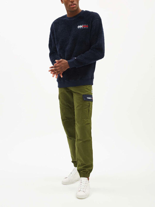 Plush Fleece Sweatshirt