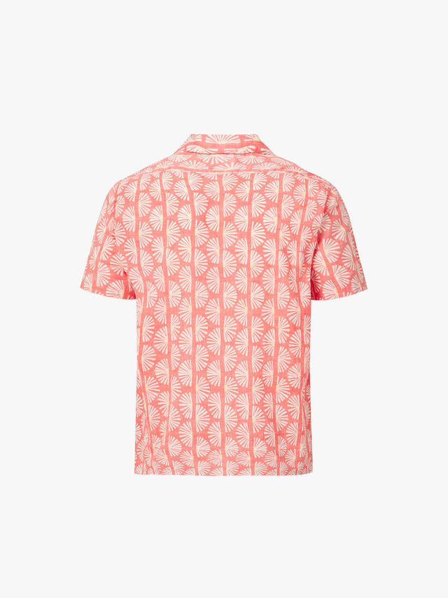 Slam Short Sleeved Fans Print Shirt