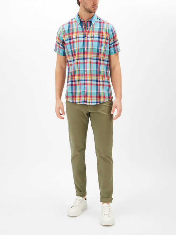 Madras Check 8 Tailored Shirt
