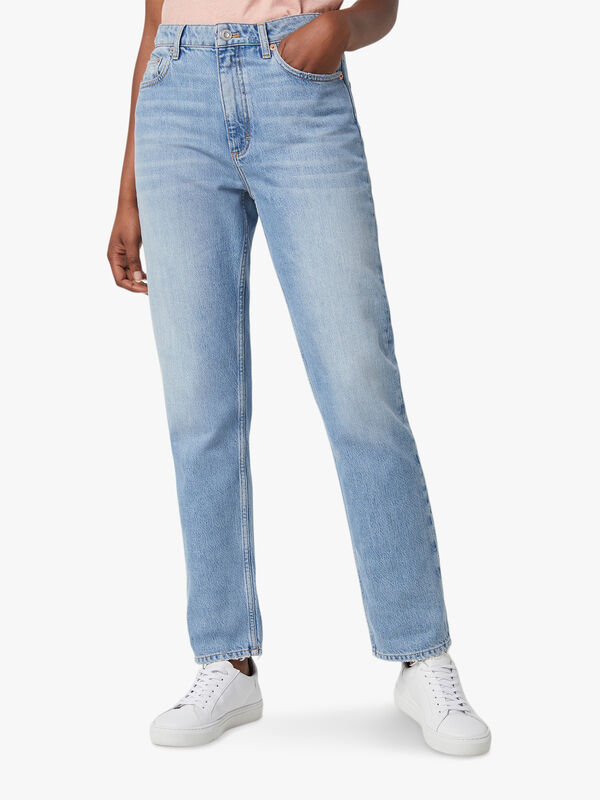 Palmira Denim Straight Leg Jean