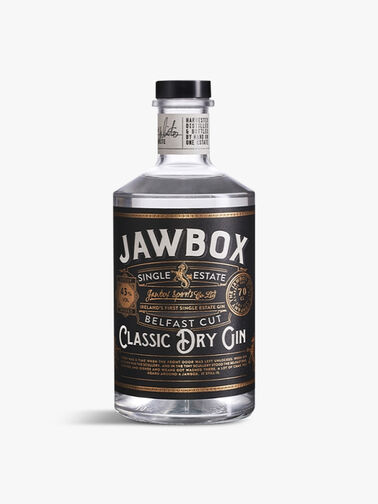 Jawbox Classic Dry Gin 70cl