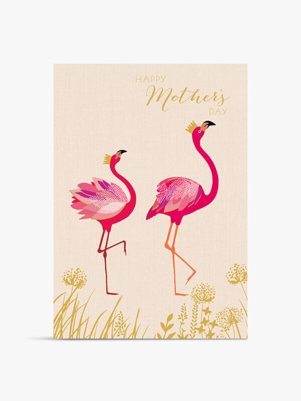 Happy Mother's Day Flamingos