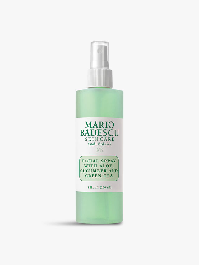 Facial Spray with Aloe Cucumber and Green Tea 236ml