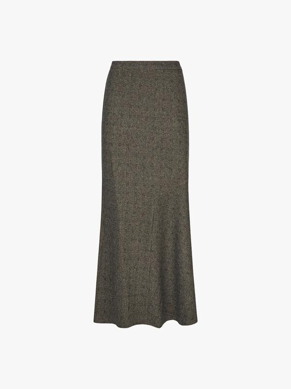 Oceania Jersey Jacquard Skirt