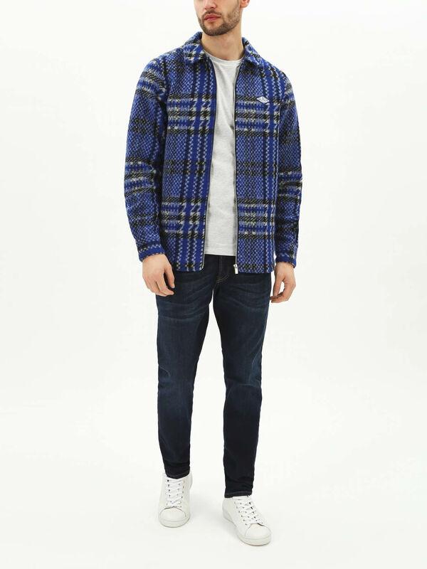 Zip Thru Overshirt Jacket