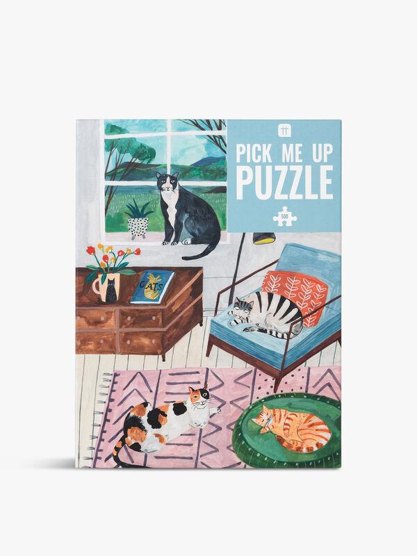 Pick Me Up Puzzle Cat
