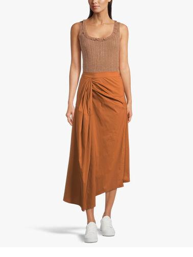 Asymmetical-Twist-Detail-Cotton-Maxi-Skirt-L1SK28