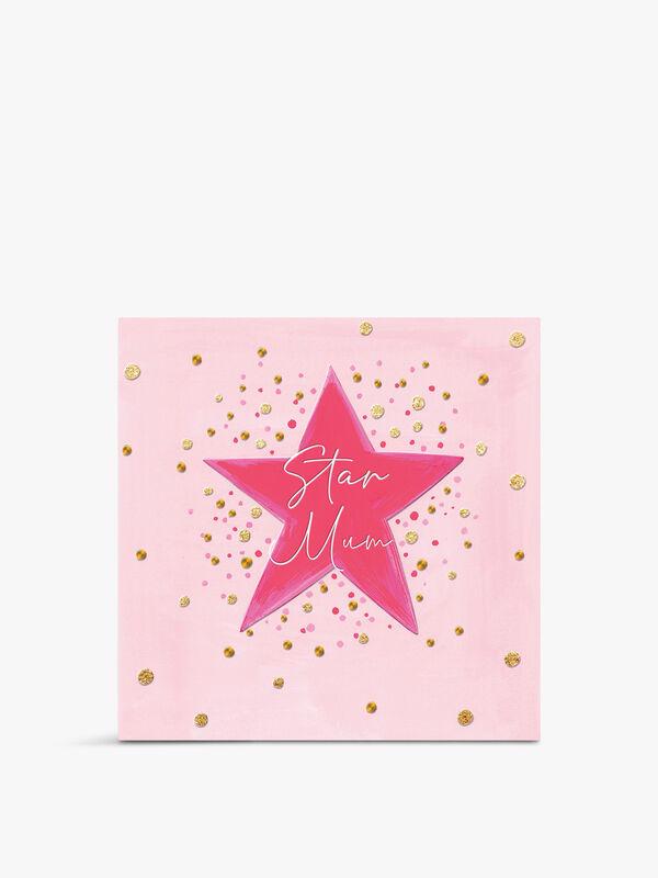 Star Mum Card