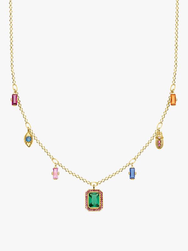 Magic Stones Multi Drop Necklace