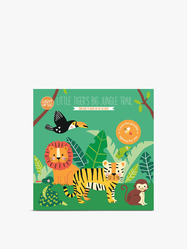 Light Up Books Little Tigers Big Jungle Trail