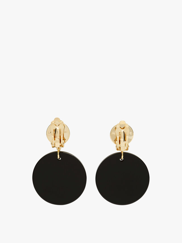 Medium Drop Clip Earrings