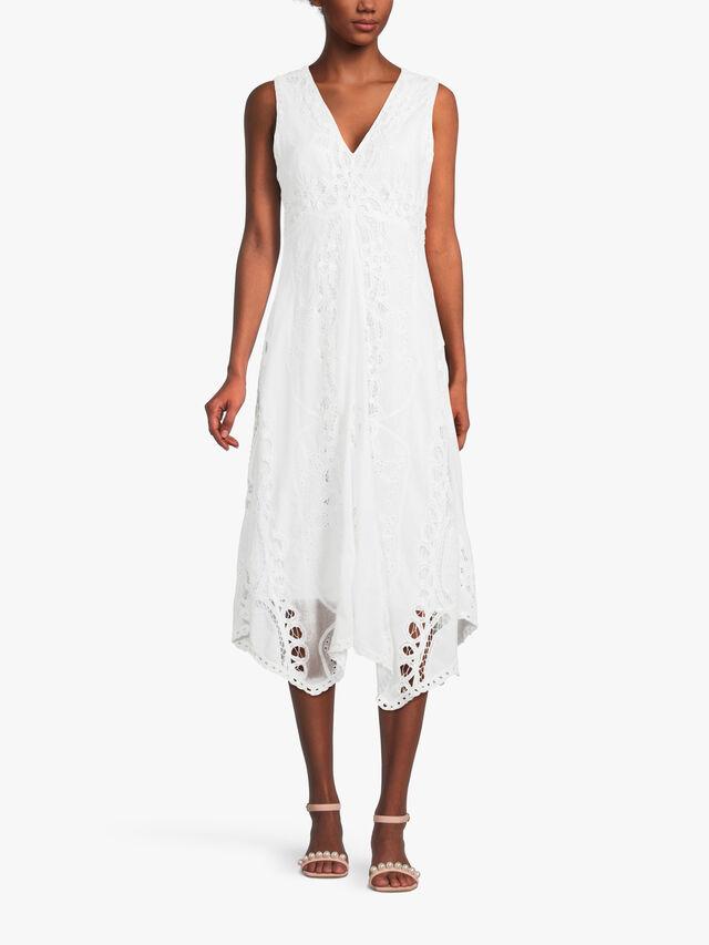 Venansia Broderie Anglaise Dress