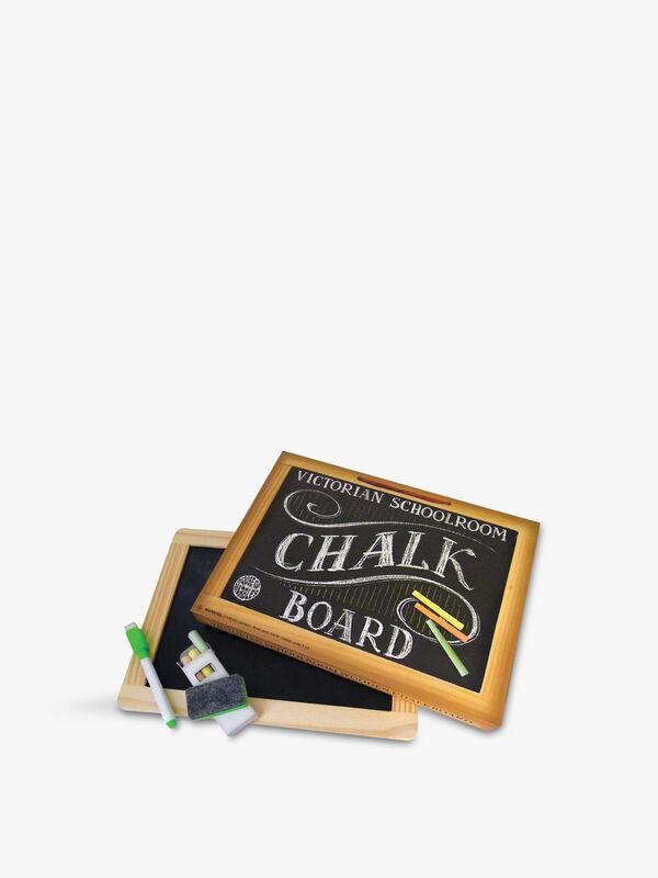 Reversible Wood-Frame Chalk Board