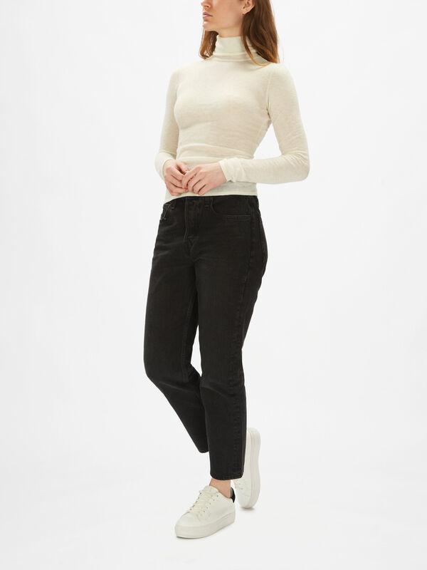 Kinsley Turtleneck Slim Sweater