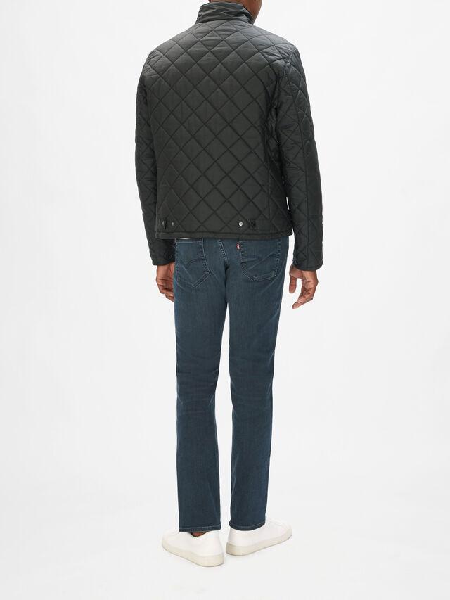 Peel Quilted Wax Jacket
