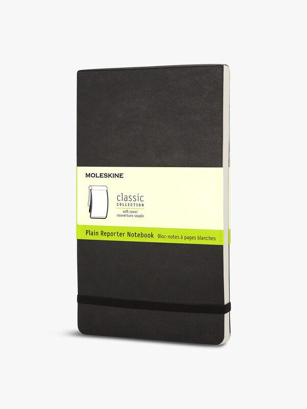 Large Reporter Notebook Plain