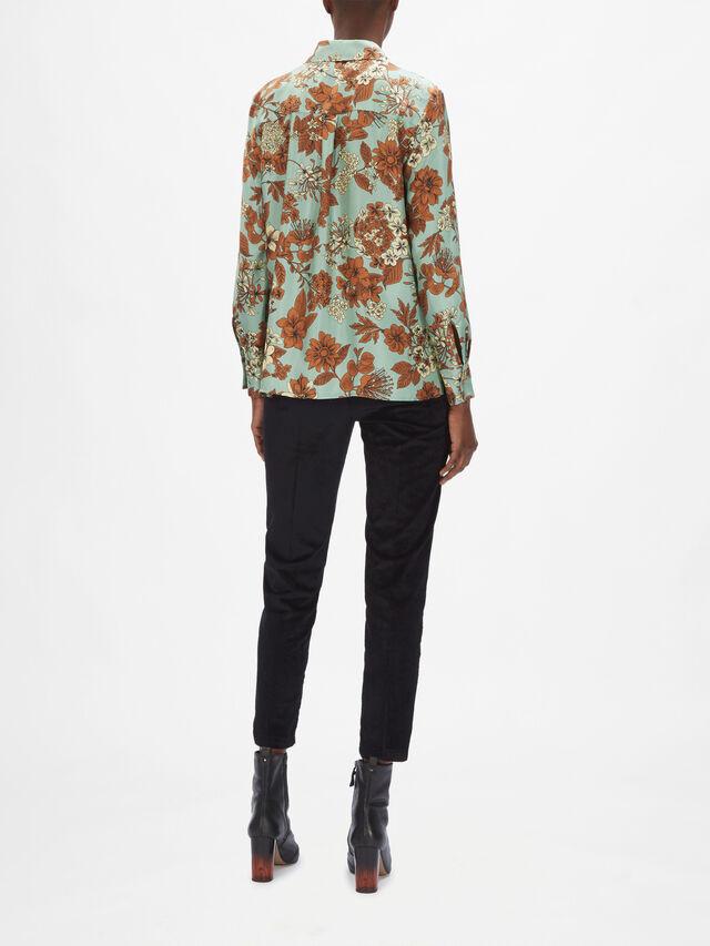 Anansi Floral Print Shirt