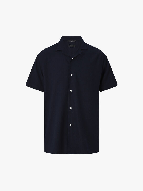 David Resort Print Silk Shirt
