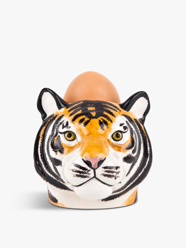 Tiger Egg Cup Pair