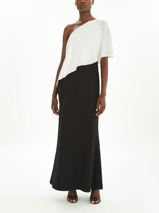 Nene One Shoulder Evening Dress