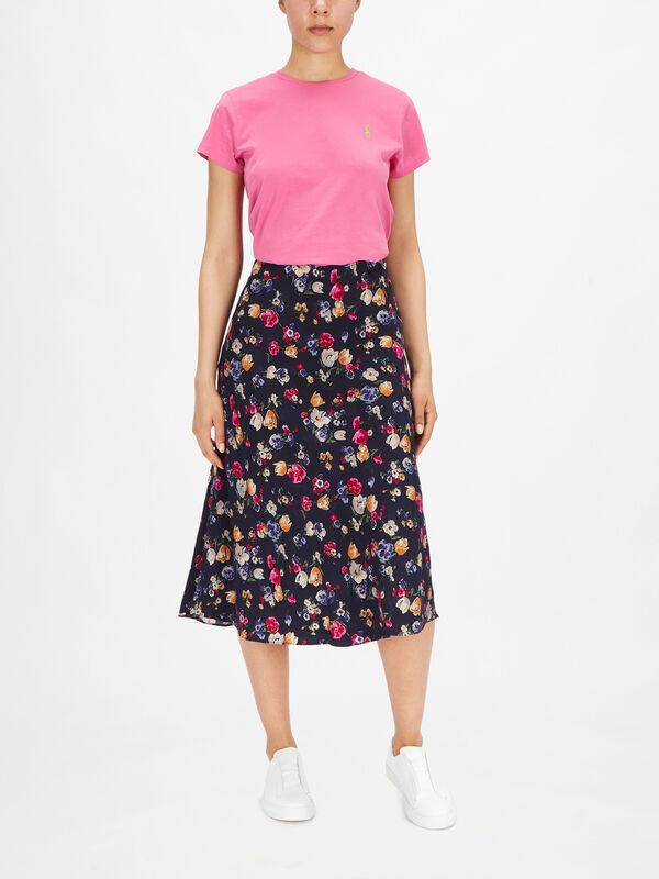 Sharae Highfields Floral Midi Skirt
