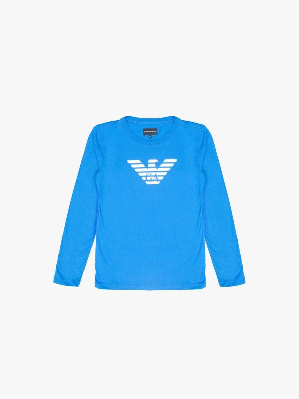 Large Eagle Logo Long SleeveT-Shirt