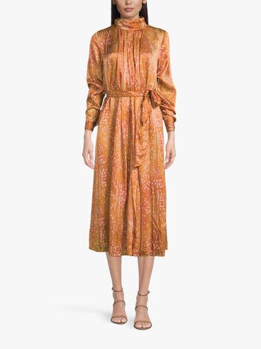 Bambi-Print-Turtleneck-Dress-8487