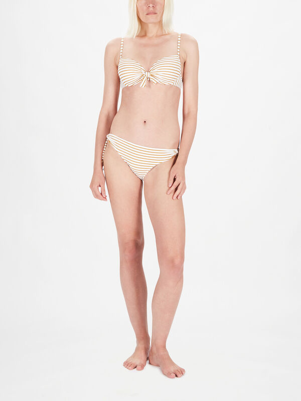 Summer Stripe Moulded Bikini Top