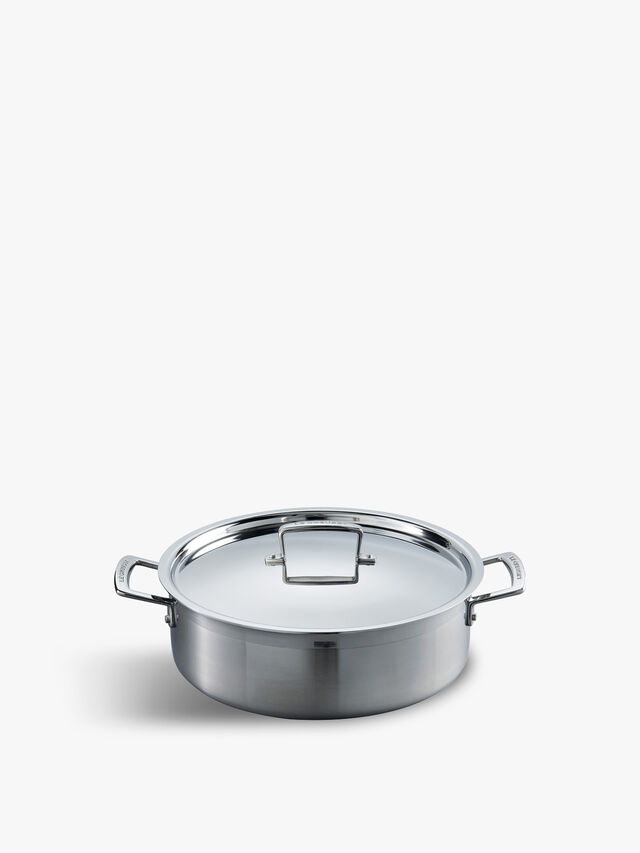 Stainless Steel Sauteuse 28cm