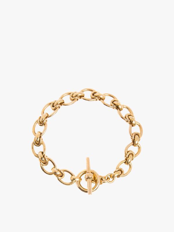 Small Interlock Linked Bracelet