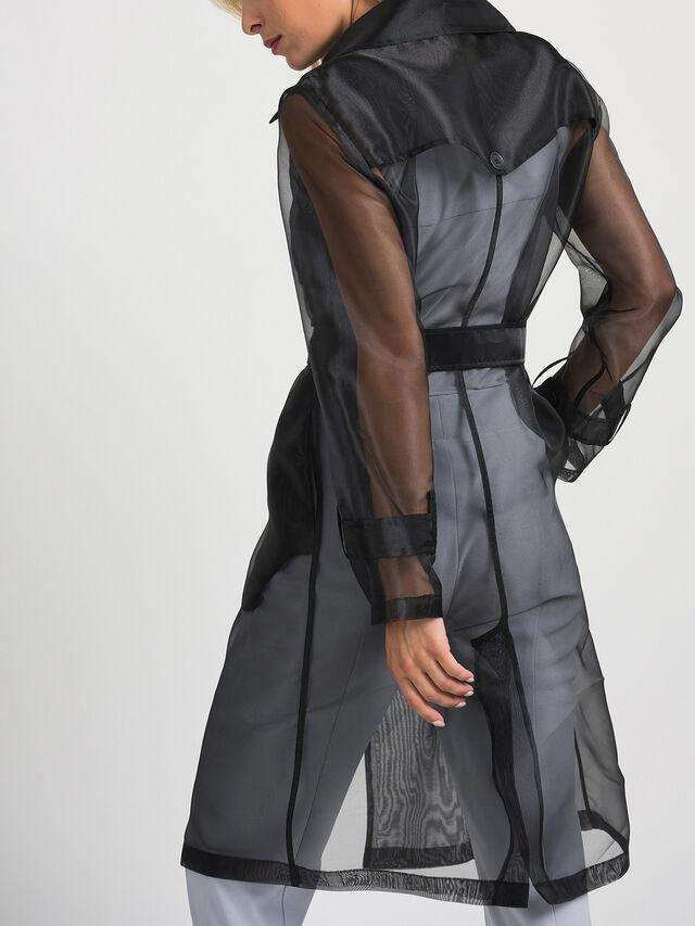 Organza Trench Coat