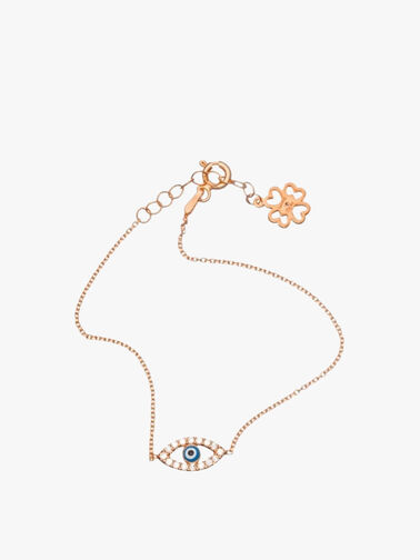Crystal Eye Bracelet
