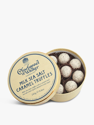 Milk Sea Salt Caramel Truffles 240g