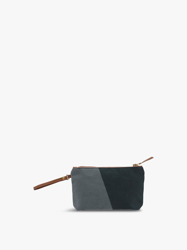 Shades Pine Cosmetic Purse