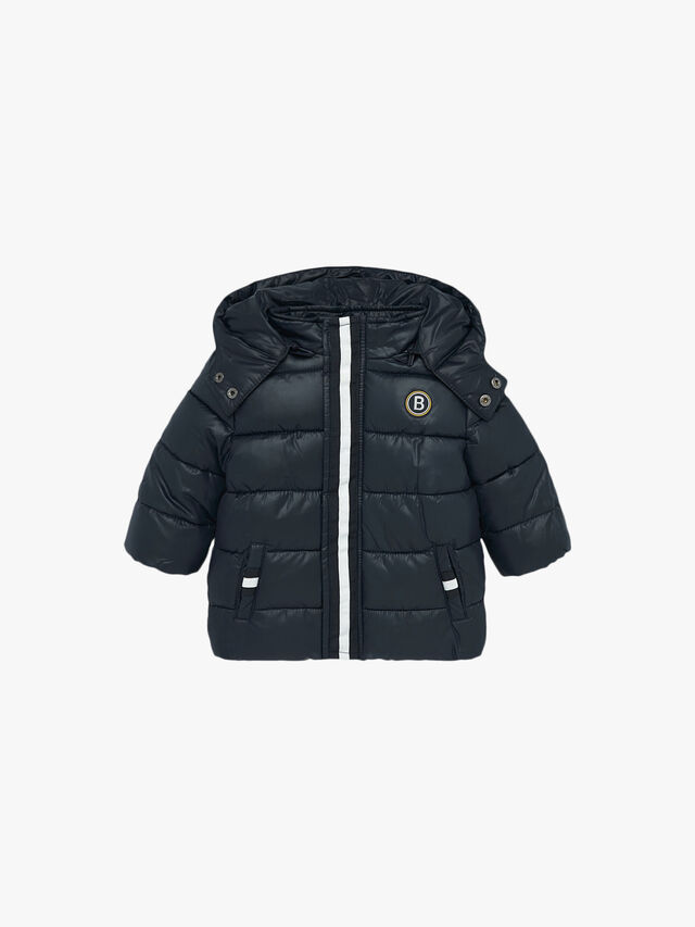 Basic Hooded Puffa Coat