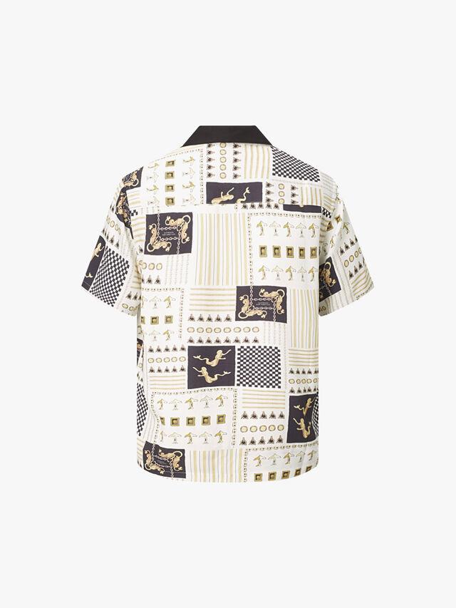 Xavier Nautics Print Short Sleeve Shirt