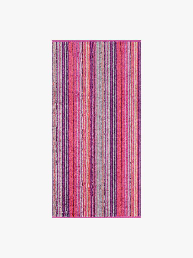 Two Tone Stripe Hand Towel