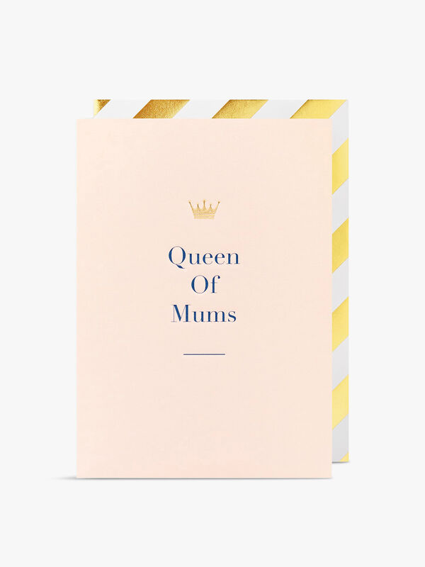 Queen Of Mums Card