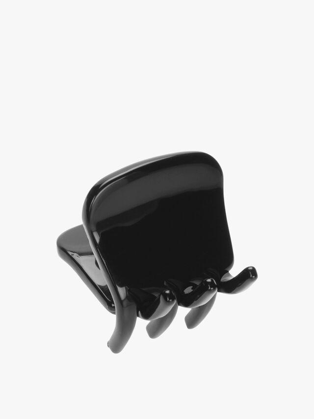 Tiny Bulldog Claw Clip (Black)