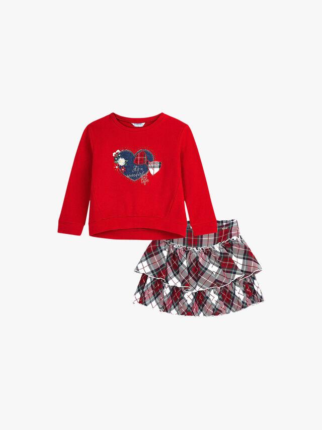 Tartan Skirt 2 Pack Set