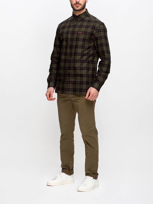 Brushed Oxford Tartan Shirt