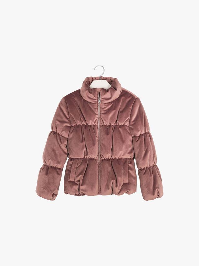 Velvet Puffa Jacket