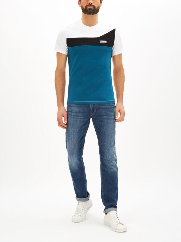 Steering Colour Block T-Shirt