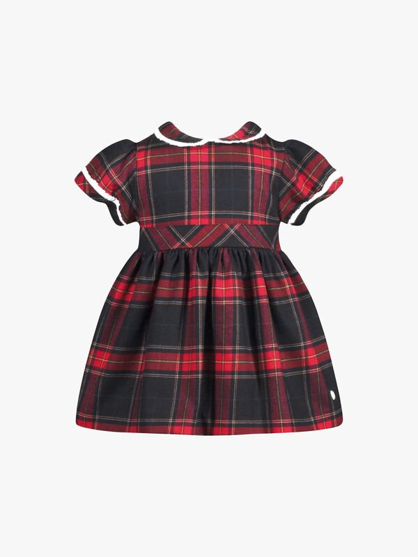 Tartan Woven Party Dress