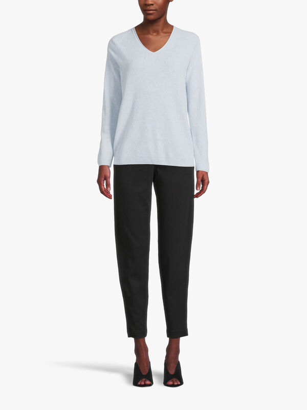 Leisure Smirne Cashmere V-Neck Sweater