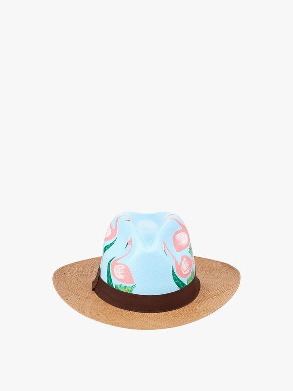 Flamingo Hat