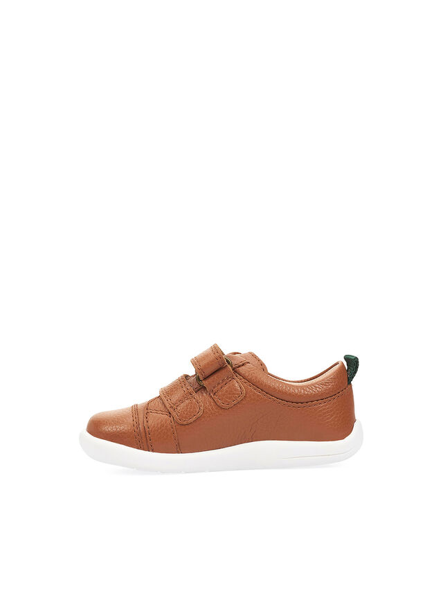 Tree House Tan Leather First Shoes